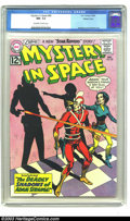Silver Age (1956-1969):Science Fiction, Mystery in Space #80 Western Penn pedigree (DC, 1962) CGC NM- 9.2Off-white to white pages. Sinister, sentient shadows were ...