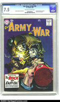 Silver Age (1956-1969):War, Our Army At War #81 (DC, 1962) CGC VF- 7.5 Off-white to white pages. A key issue, nearly every Silver Age DC war collector w...