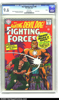 Our Fighting Forces #98 Boston pedigree (DC, 1966) CGC NM+ 9.6 White pages. We see a lot of nice comics around here, but...