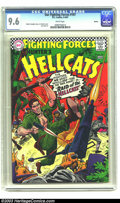 Silver Age (1956-1969):War, Our Fighting Forces #107 Boston pedigree (DC, 1967) CGC NM+ 9.6White pages. Lt. Hunter and his Hellcats tear the enemy apar...