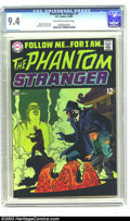 Silver Age (1956-1969):Horror, The Phantom Stranger #1 (DC, 1969) CGC NM 9.4 Off-white to whitepages. The premiere issue of this terrific series is the se...