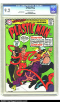 Silver Age (1956-1969):Superhero, Plastic Man #1 (DC, 1966) CGC NM- 9.2 Off-white to white pages.Here is the premiere issue of the Silver Age Plastic Man, wi...