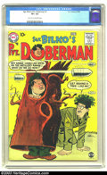 "Silver Age (1956-1969):Humor, Sgt. Bilko's Private Doberman #1 (DC, 1958) CGC VF+ 8.5 Light tan to off-white pages. Phil Silver's TV show ""You'll Never Ge..."