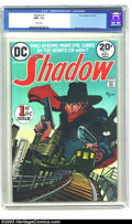 Bronze Age (1970-1979):Miscellaneous, The Shadow #1 (DC, 1973) CGC NM+ 9.6 White pages. Michael Kaluta'sinterpretation of this hero had most fans rejoicing the f...
