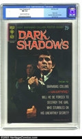 Silver Age (1956-1969):Horror, Dark Shadows #1 (Gold Key, 1969) CGC NM 9.4 Cream to off-whitepages. If you're holding your breath waiting for a higher-gra...