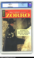 Silver Age (1956-1969):Adventure, Zorro #1 Boston pedigree (Gold Key, 1966) NM/MT 9.8 White pages. Back in the late 1950s, just about every kid in the country...
