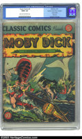 Golden Age (1938-1955):Classics Illustrated, Classic Comics #5 Moby Dick - Kurtzman File Copy (Gilberton, 1942)CGC GD/VG 3.0 Light tan to off-white pages. This original...