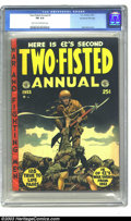Golden Age (1938-1955):War, Two-Fisted Tales Annual #2 Kurtzman File Copy (EC, 1953) CGC FN 6.0Light tan to off-white pages. No one has ever done a war...