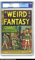 Golden Age (1938-1955):Science Fiction, Weird Fantasy #6 Kurtzman File Copy (EC, 1951) CGC VG 4.0 Light tanto off-white pages. This early EC science-fiction vehicl...