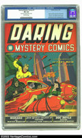 Golden Age (1938-1955):Superhero, Daring Mystery Comics #1 (Timely, 1940) CGC FN 6.0 Off-white pages. This very early Timely title hit the newsstands just thr...