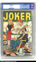 Golden Age (1938-1955):Humor, Joker Comics #27 Mile High pedigree (Timely, 1947) CGC NM 9.4 Off-white to white pages. Typifying what it truly is to be a p...