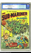 Golden Age (1938-1955):Superhero, Sub-Mariner Comics #1 (Timely, 1941) CGC VG+ 4.5 Cream to off-white pages. Here is the spectacular debut issue with a great ...