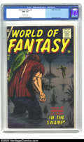 Silver Age (1956-1969):Horror, World of Fantasy #6 (Atlas, 1957) CGC NM- 9.2 Off-white pages.Here's a superlative example of an Atlas horror comic. Bill E...