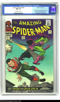 Silver Age (1956-1969):Superhero, The Amazing Spider-Man #39 (Marvel, 1966) CGC NM+ 9.6 Off-white towhite pages. Out of all the copies CGC has graded of this...