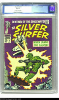 Silver Age (1956-1969):Superhero, The Silver Surfer #2 (Marvel, 1968) CGC NM 9.4 Off-white to white pages. John Buscema and Gene Colan art. Overstreet 2003 NM...