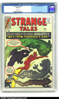 Silver Age (1956-1969):Superhero, Strange Tales #109 (Marvel, 1963) VF 8.0 Off-white pages. Jack Kirby never missed a chance to incorporate a monster into the...