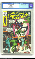 Bronze Age (1970-1979):Superhero, The Amazing Spider-Man #91 (Marvel, 1970) CGC NM+ 9.6 Off-white towhite pages. Nice and clean, with a super-tight spine, an...