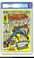 Bronze Age (1970-1979):Superhero, The Amazing Spider-Man #121 (Marvel, 1973) CGC NM/MT 9.8 Whitepages. Of the 521 copies of this issue that have been sent in...