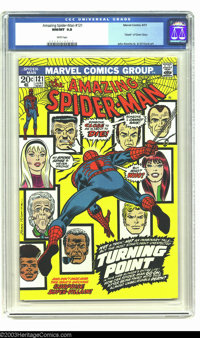 The Amazing Spider-Man #121 (Marvel, 1973) CGC NM/MT 9.8 White pages. Of the 521 copies of this issue that have been sen...