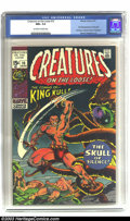 Bronze Age (1970-1979):Horror, Creatures on the Loose #10 (Marvel, 1971) CGC NM+ 9.6 Off-white towhite pages. Prior to King Kull's own long-running title,...