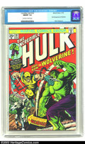 Bronze Age (1970-1979):Superhero, The Incredible Hulk #181 (Marvel, 1974) CGC NM/MT 9.8 Off-white to white pages. The Bronze Age's most in-demand book feature...