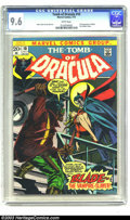 Bronze Age (1970-1979):Horror, Tomb of Dracula #10 (Marvel, 1973) CGC NM+ 9.6 White pages. Long before Wesley Snipes made Blade the Vampire Slayer a movie ...