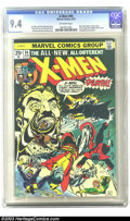 Bronze Age (1970-1979):Superhero, X-Men #94 (Marvel, 1975) CGC NM 9.4 Off-white pages. The new X-Menbegin with this issue, brought to you by Len Wein and Chr...
