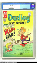 Bronze Age (1970-1979):Cartoon Character, Dudley Do-Right #1 (Charlton, 1970) CGC NM 9.4 Off-white pages.Superlative example of a Bronze Age Jay Ward classic; no cop...