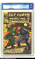 Silver Age (1956-1969):War, Sgt. Fury and His Howling Commandos #29 Stan Lee File Copy (Marvel, 1966) CGC FN 6.0 Cream to off-white pages. This book fea...