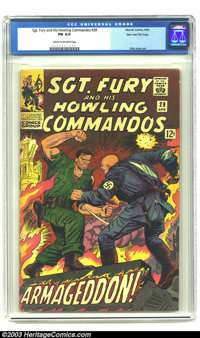 Sgt. Fury and His Howling Commandos #29 Stan Lee File Copy (Marvel, 1966) CGC FN 6.0 Cream to off-white pages. This book...
