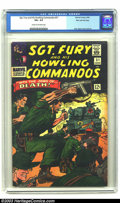 Silver Age (1956-1969):War, Sgt. Fury and His Howling Commandos #31 Stan Lee File Copy (Marvel, 1966) CGC VG+ 4.5 Cream to off-white pages. Nice cover c...