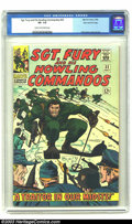 Silver Age (1956-1969):War, Sgt. Fury and His Howling Commandos #32 Stan Lee File Copy (Marvel, 1966) CGC VF- 7.5 Cream to off-white pages. Fury discove...