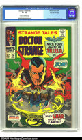 """Silver Age (1956-1969):Horror, Strange Tales #156 Stan Lee File Copy (Marvel, 1967) CGC VF 8.0Cream to off-white pages. This Marie Severin cover really """"g..."""