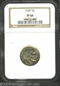 Proof Buffalo Nickels: , 1937 PR 66 NGC. The current Coin Dealer Newsletter (...