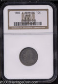 Early Dimes: , 1805 10C 4 Berries Good 4 NGC. JR-2, R.2. Lavender fields ...