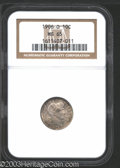 Barber Dimes: , 1906-O 10C MS65 NGC. Well struck and satiny, with dappled ...