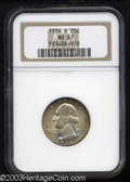 Washington Quarters: , 1936-S 25C MS67 NGC. Well struck with glowing satin ...