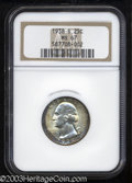 Washington Quarters: , 1938-S 25C MS67 NGC. Well struck with attractive ...