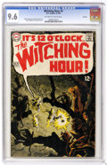 Silver Age (1956-1969):Horror, Witching Hour #3 Oakland pedigree (DC, 1969) CGC NM+ 9.6 Off-whiteto white pages. At its best, this title matched the thril...