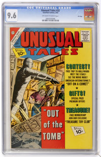 Unusual Tales #32 File Copy (Charlton, 1962) CGC NM+ 9.6 Off-white to white pages. Overstreet 2005 NM- 9.2 value = $45...