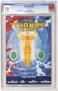 Thanos Quest #2 (Marvel, 1990) CGC MT 10.0. The only Gem Mint copy of this issue that CGC has certified to date. Jim Sta...
