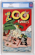 Golden Age (1938-1955):Funny Animal, Zoo Funnies #2 (Charlton, 1945) CGC NM 9.4 Off-white to whitepages....