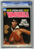 Magazines:Horror, Vampirella #67 (Warren, 1978) CGC NM/MT 9.8 Off-white to white pages. Photo cover featuring actress Barbara Leigh. Color ins...