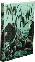 Books:First Editions, August Derleth: The Mask of Cthulhu. (Sauk City: ArkhamHouse, 1958), first edition, 201 pages, dust jacket by R. Taylor...