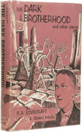 Books:First Editions, H.P. Lovecraft & Divers Hands: The Dark Brotherhood andOther Pieces. (Sauk City: Arkham House, 1966), first edition,32...