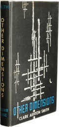 Books:First Editions, Clark Ashton Smith: Other Dimensions. (Sauk City: ArkhamHouse, 1970), first edition, 329 pages, dust jacket by Lee Brow...