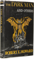 Books:First Editions, Robert E. Howard: The Dark Man and Others. (Sauk City:Arkham House, 1963), first edition, 284 pages, dust jacket byFra...