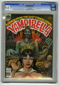 Magazines:Horror, Vampirella #86 (Warren, 1980) CGC NM/MT 9.8 Off-white pages....