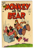 "Golden Age (1938-1955):Funny Animal, The Monkey and the Bear #1 Davis Crippen (""D"" Copy) pedigree(Atlas, 1953) Condition: VF...."