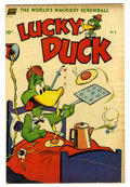 "Golden Age (1938-1955):Funny Animal, Lucky Duck #8 Davis Crippen (""D"" Copy) pedigree (Standard Comics,1953) Condition: FN/VF...."